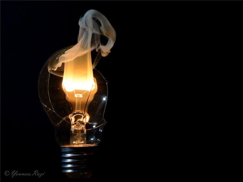 هنر عکاسی دود و آتش یونس
