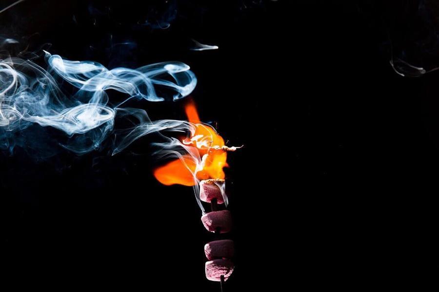 هنر عکاسی دود و آتش Arash__aria smoke project  f1/8 iso 100 lens 50 f1/8 body nikon D750