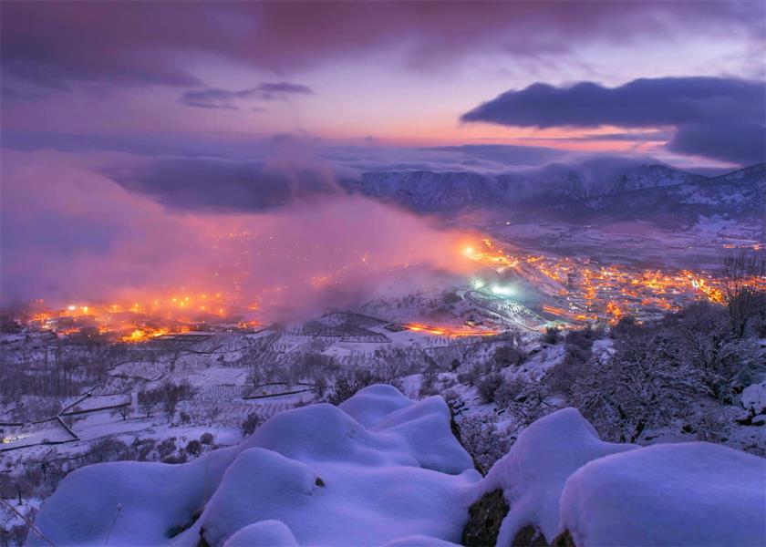 هنر عکاسی برف hossein