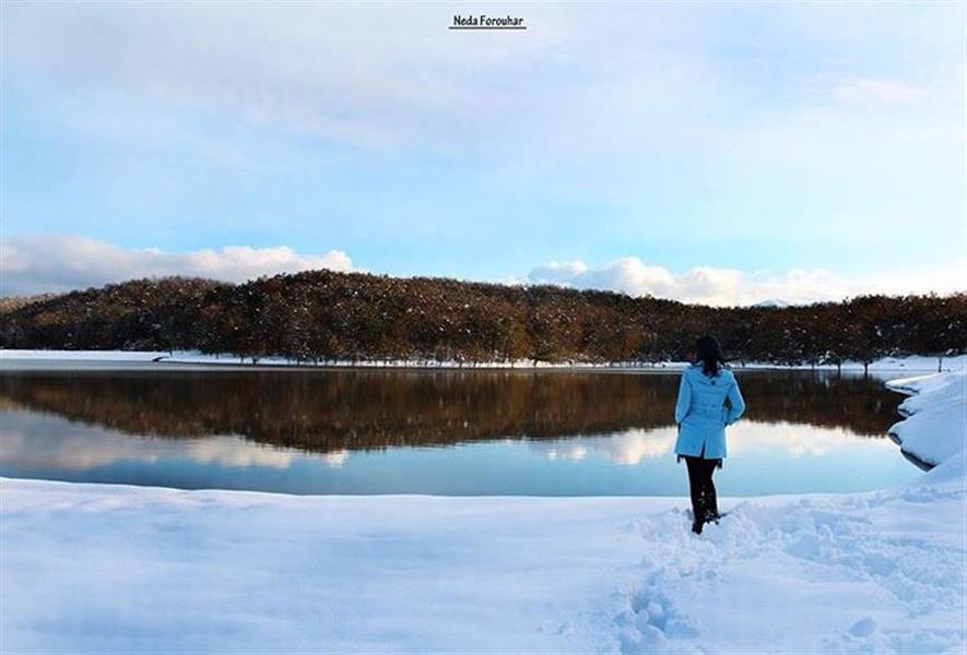 هنر عکاسی برف ندا
