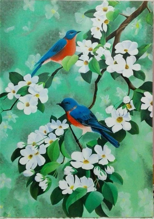 هنر نقاشی و گرافیک نقاشی حیوانات Niky کار رنگ روغن (سایز:70*50)