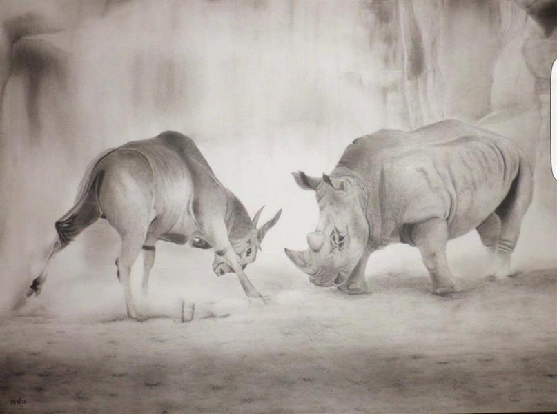 هنر نقاشی و گرافیک نقاشی حیوانات Niloofar