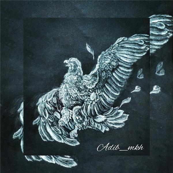 هنر نقاشی و گرافیک نقاشی حیوانات Adib_mkh مینیاتور کپى از استاد فرشچیان