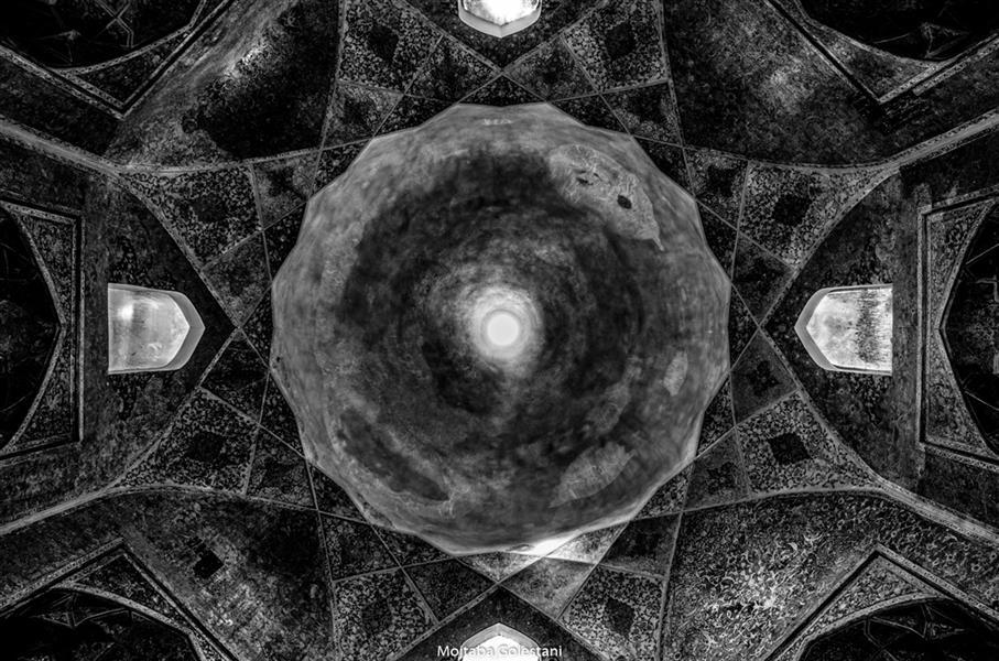 هنر عکاسی محفل عکاسی مجتبی گلستانی #کاخ #کاخ_خورشید #طاق #کلات #کلات_نادری
