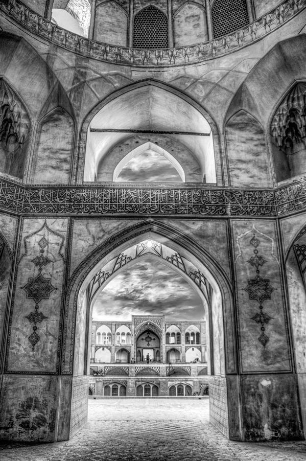 هنر عکاسی محفل عکاسی سید علی نعمتیان #مسجد آقا بزرگ کاشان