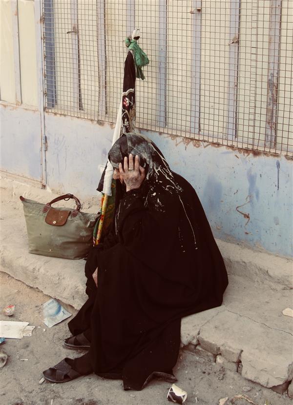 هنر عکاسی محفل عکاسی Hamed #غم#مادر#حزن#ماتم#عشق#کربلا#عراق#پرچم#خستگی