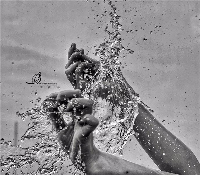 هنر عکاسی محفل عکاسی ستاره خواجه ای Water photography
