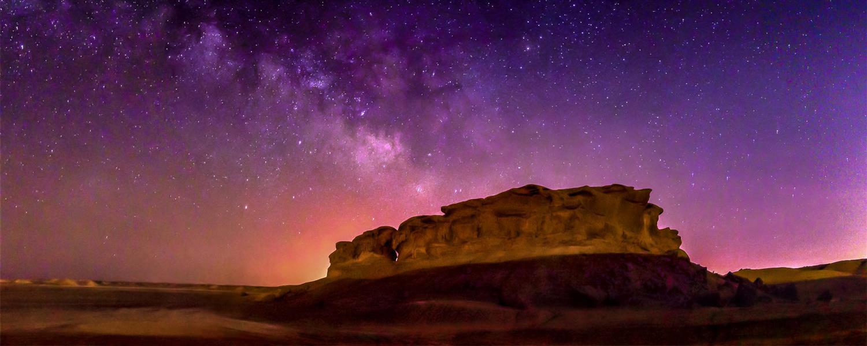 هنر عکاسی محفل عکاسی مصطفی بشری تماشای زیبایی #کویر و #دشت های وسیع در #شب بسیار بسیار #لذت بخش است و #عکاسی از #کهکشان راه شیری این لذت را چند برابر میکند.