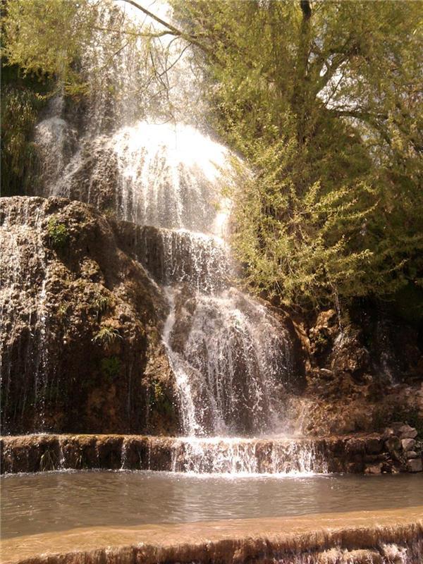 هنر عکاسی محفل عکاسی sepid آبشار نیاسر در نزدیکی کاشان