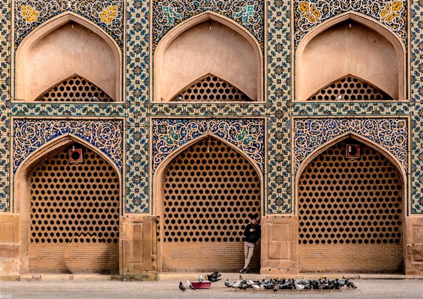 هنر عکاسی محفل عکاسی محبوبه سیفی--(مهناز سیف) #مستند اجتماعی #معماری اصفهان