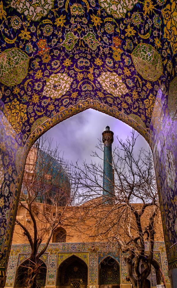هنر عکاسی محفل عکاسی محبوبه سیفی--(مهناز سیف) #معماری_سنتی اصفهان