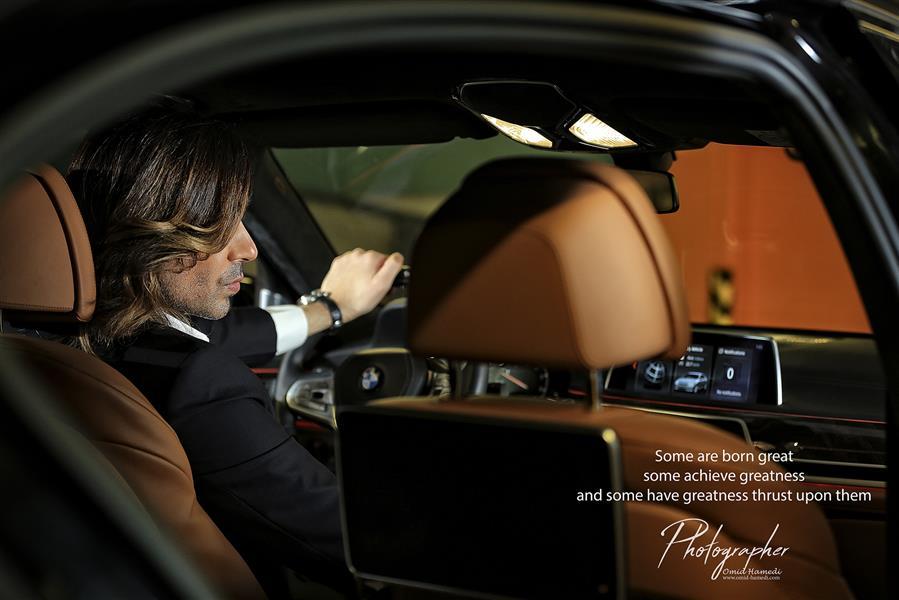 هنر عکاسی محفل عکاسی امید حامدی عکاسی صنعتی تبلیغاتی از BMW