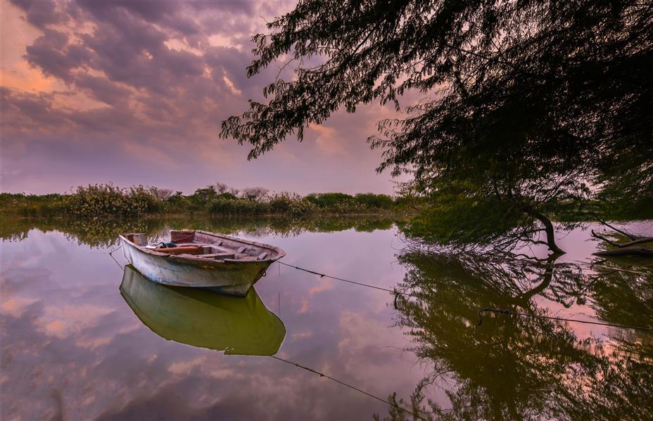 هنر عکاسی محفل عکاسی fares moghadam تصویر مربوط به شهر خرمشهر رود کارون روستای محرزی