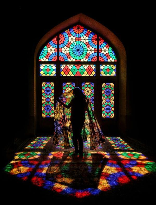 هنر عکاسی محفل عکاسی فرشید اشکر رقص در میان رنگها