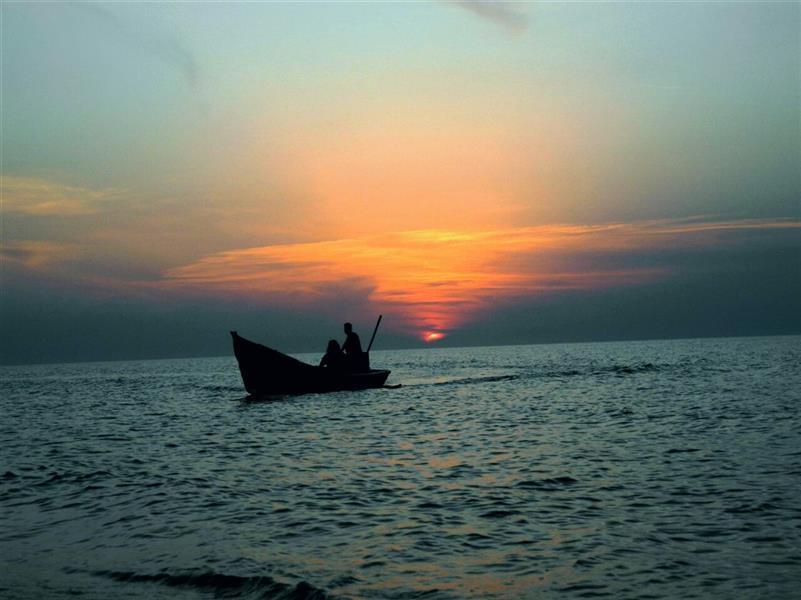 هنر عکاسی محفل عکاسی آرمیتا هوشنگی دریای آرام