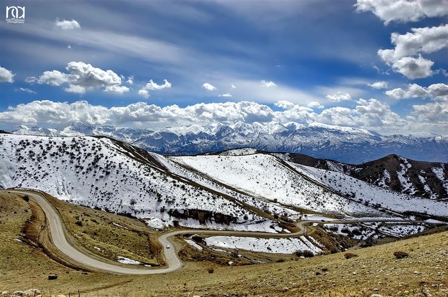 هنر عکاسی محفل عکاسی nader akbarpour(mezgana) طبیعت زمستانی  روستای شینه قلایی الشتر-لرستان