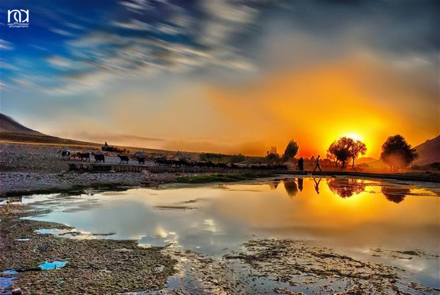 هنر عکاسی محفل عکاسی nader akbarpour(mezgana) سراب زز واقع در روستای جوانمرد شهرستان الشتر-لرستان