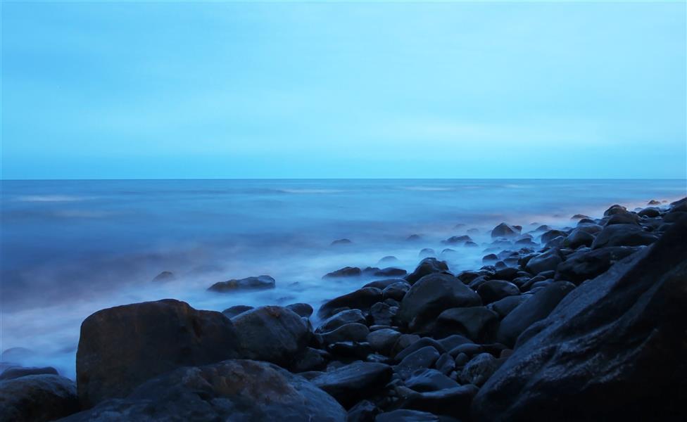 هنر عکاسی محفل عکاسی پیمان ملایی a quiet sea#