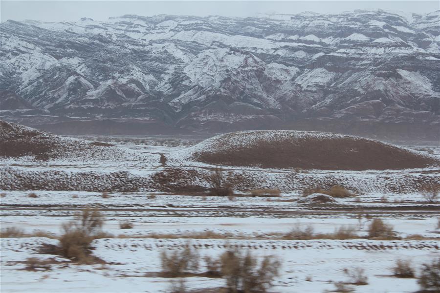 هنر عکاسی محفل عکاسی مریم قربانی نمایی از زمستان در مسیر مشهد