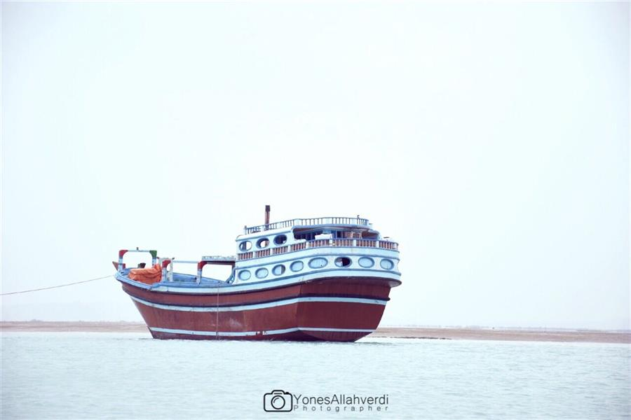 هنر عکاسی محفل عکاسی یونس اله وردی کشتی به گل نشسته