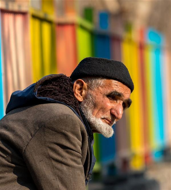 هنر عکاسی محفل عکاسی محسن فروغی فر #این_عمر_گران در گذر است ۴۰×۶۰