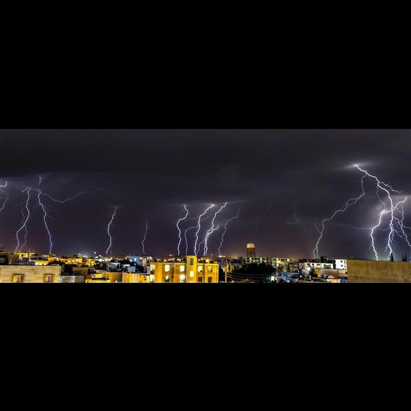 هنر عکاسی محفل عکاسی محسن فروغی فر شب طوفانی، بوشهر