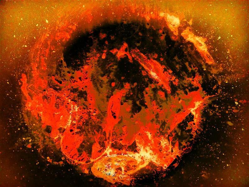 هنر عکاسی محفل عکاسی آسیه رضائی استاده اند بر سر پا شعله ها تمام/امشب کدام سوخته مهمان آتش است؟ . . .هر نکته ای ز عشق، بهاری است دلفروز .در هر شرر نهفته گلستان آتش است .از پیچ و تاب ما جگر عشق تازه شد .خاشاک برگ عیش گلستان آتش است(صائب تبریزی)   _ _ _ _ _ _ _ _ _ _ _ _ _ _ _ _ _ _ _ _ _ _ _ _ _ _ _ _ _ #photo_by_me#photo_by_phone(#HUAWEI_Y550) #abstract#fine_art#art#artist#abstract_photography #عکاسی_با_گوشی #آبستره اندازه:30*40