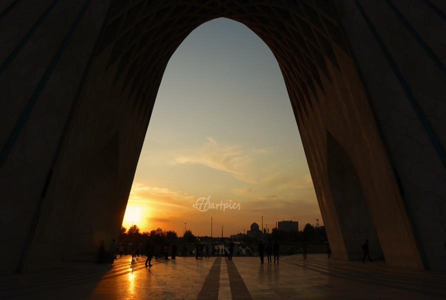 هنر عکاسی محفل عکاسی حسین خرمشاهی غروب آزادی