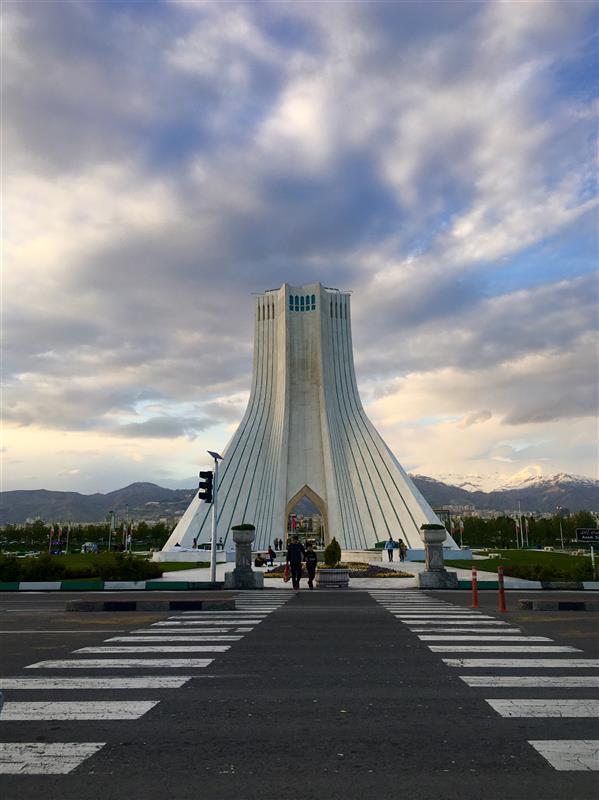 هنر عکاسی محفل عکاسی حسین خرمشاهی #برج_آزادی