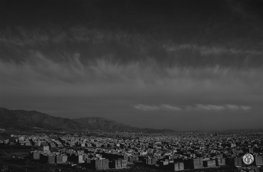 هنر عکاسی محفل عکاسی بهنام بهره دار #بهنام_بهره دار#خاموشی_شهر