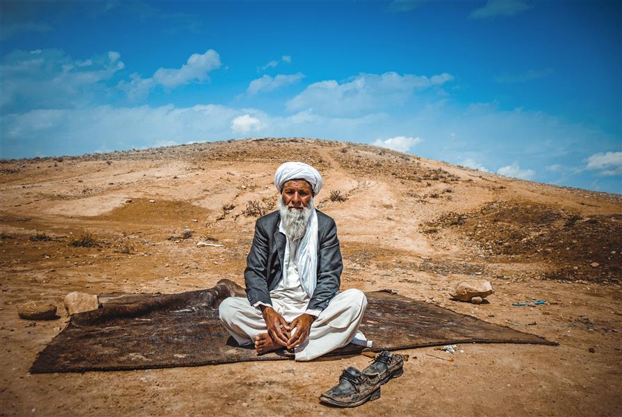 هنر عکاسی محفل عکاسی reza danial پیرمرد افغان عکس در سایز 60.90 #portrait#oldman#classic#photography