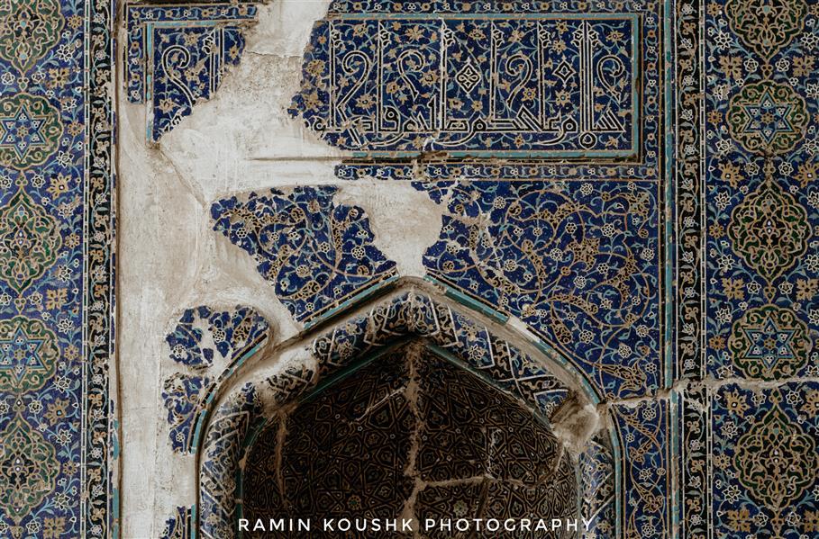 هنر عکاسی محفل عکاسی رامین کوشک سرایی مسجد کبود