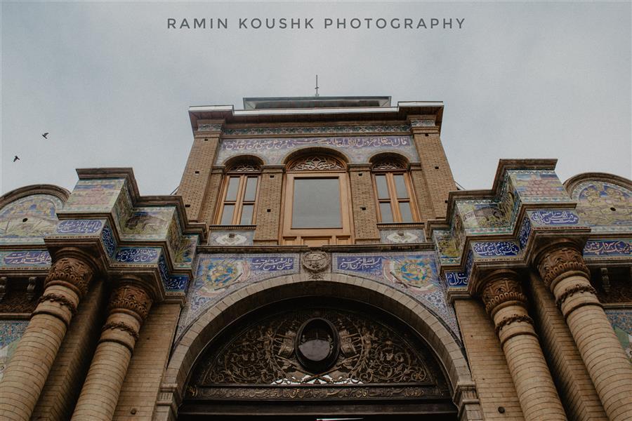 هنر عکاسی محفل عکاسی رامین کوشک سرایی دروازه باغ ملی