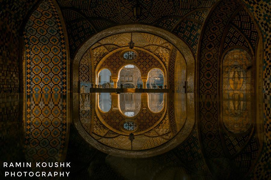 هنر عکاسی محفل عکاسی رامین کوشک سرایی موزه گلستان