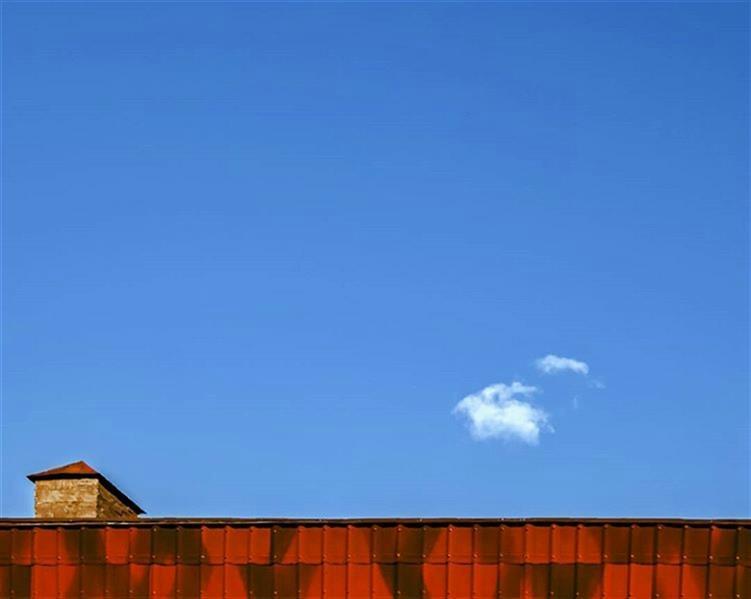 هنر عکاسی محفل عکاسی سارا حکمتی #مینیمال #آسمان