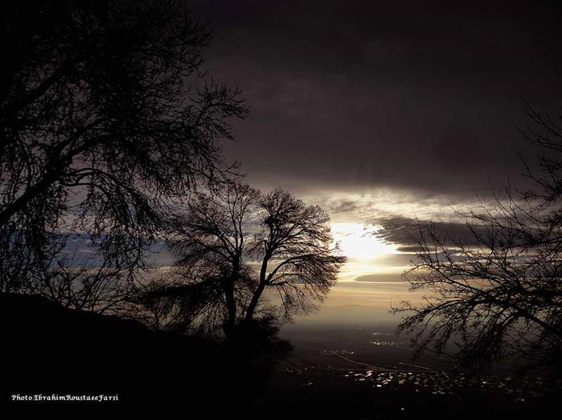 هنر عکاسی محفل عکاسی Ebrahim Roustaee Farsi #غروب #تخت_جمشید #مرودشت