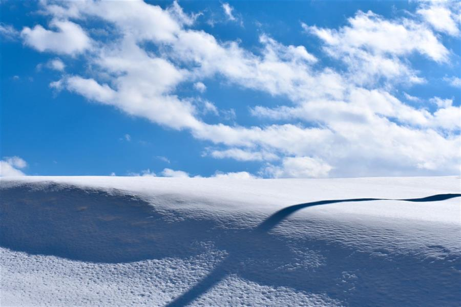 هنر عکاسی محفل عکاسی محمد پوریانی #photography#photo#landscape#sky#cloud#snow#winter#shadow#color#line