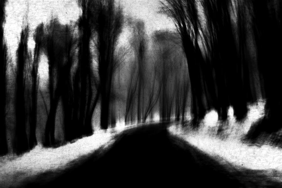 هنر عکاسی محفل عکاسی محمد پوریانی # photography #fineart #abstract#impression #blackandwhite #bnw #dark #shadow #light #landscape
