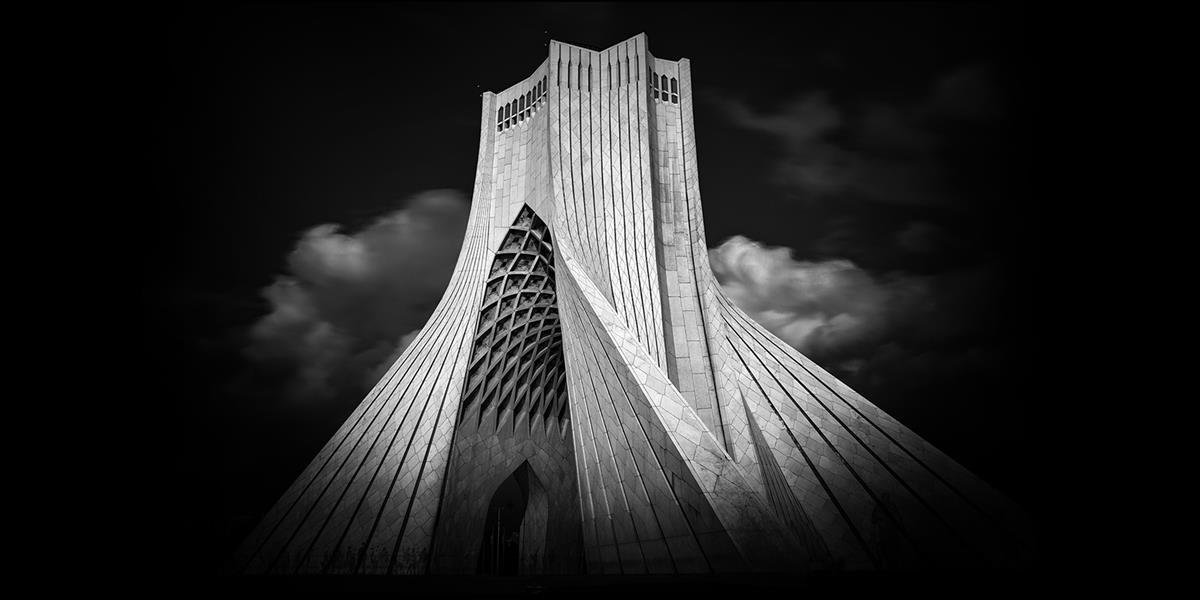 هنر عکاسی محفل عکاسی محمد خاجوی عورکی #معماری #سیاه_سفید  سایز ۵۰*۷۰