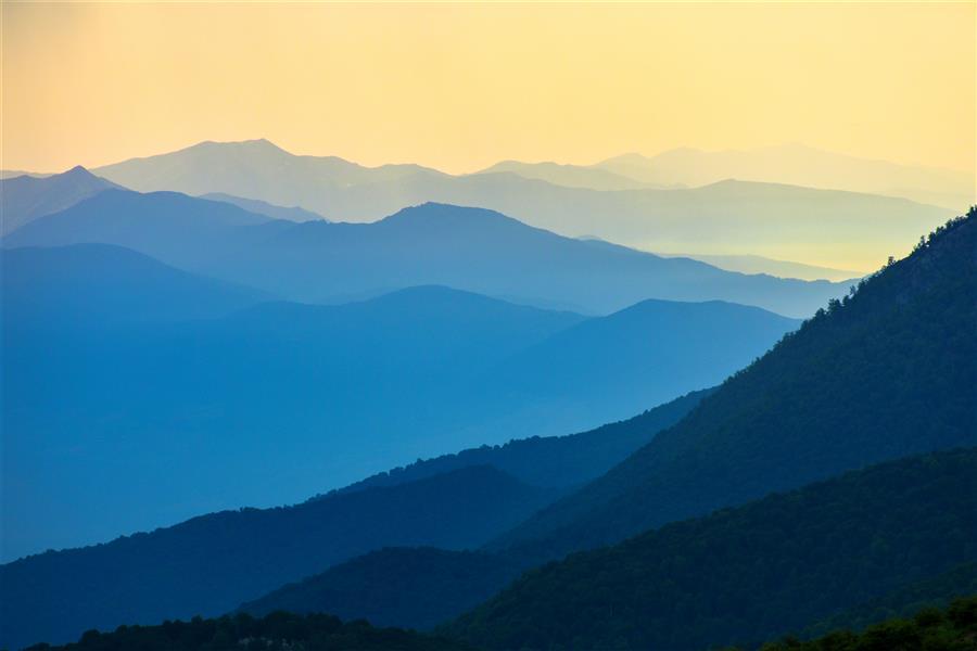 هنر عکاسی محفل عکاسی رضا همتی  لایه #کوهها و #هارمونی رنگها