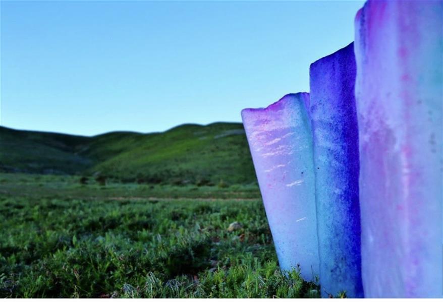 هنر عکاسی محفل عکاسی شهرزادحاجی اشرفی #یخ در طبیعت  ۵۰x۷۰ به بالا