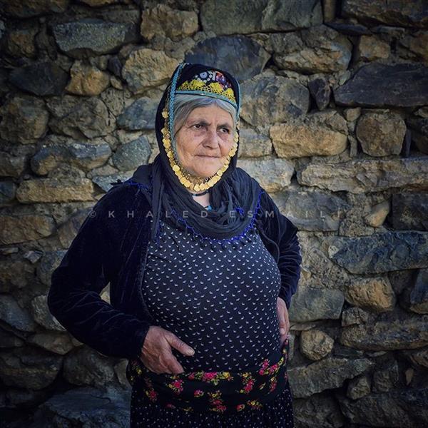 هنر عکاسی محفل عکاسی Khaled Esmaili زن کرد روستای نستان، سردشت