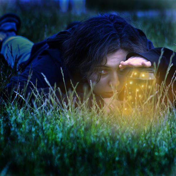 هنر عکاسی محفل عکاسی فاطمه نعمت اللهی #مدفن کرمهای شبتاب