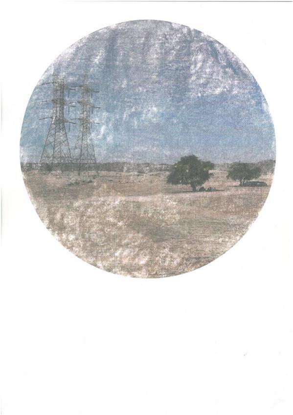 هنر عکاسی محفل عکاسی Silkroad Akbar Zaheri Tiak  series, 2020   gasoline  print  on cardboard  Edition 1/5