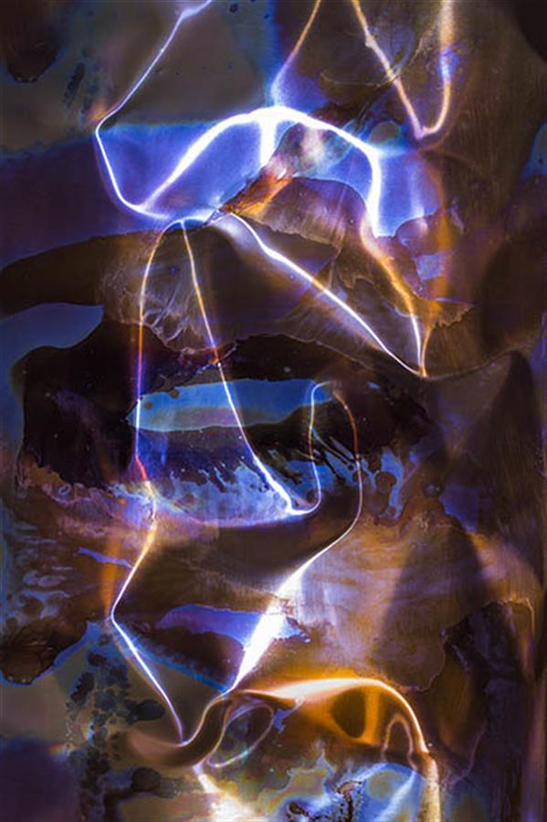 هنر عکاسی محفل عکاسی حسین نوروزی  Elyad  # متریال چاپ روی کنواس # نام اثر ش۱ از مجموعه متال #هنرمند حسین نوروزی