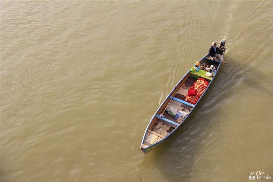 هنر عکاسی محفل عکاسی نسیم سمیع  باسلام؛ این اثر در اهواز، رودخانهی کارون گرفته شده است.   نام اثر: زندگی در دل آبهای جنوب ...