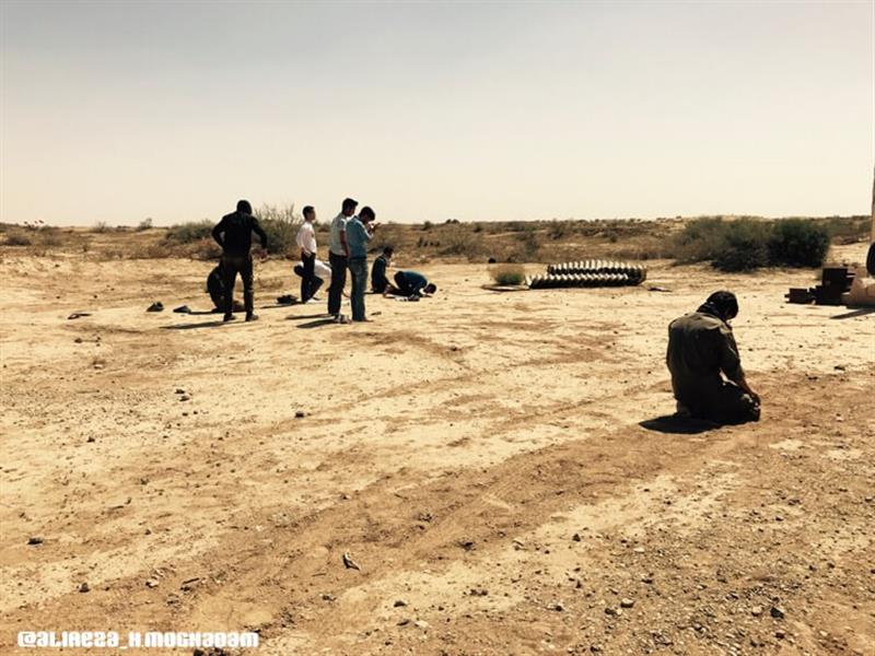 هنر عکاسی محفل عکاسی علیرضا حسینی مقدم راهیان نور   اردوى دانشجویى