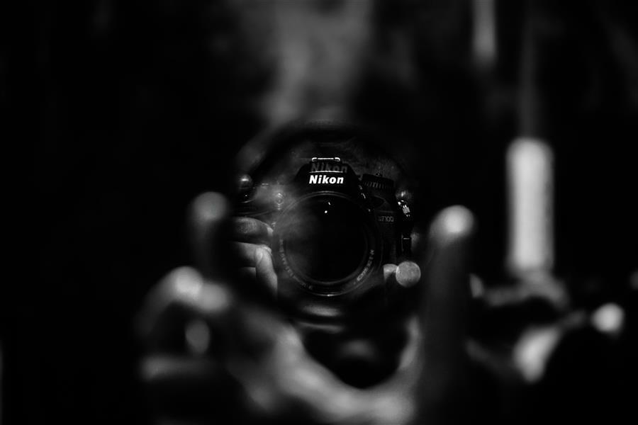 هنر عکاسی محفل عکاسی امیرسالار لاکچی انعکاس دوربین photo by amirsalar lakchi