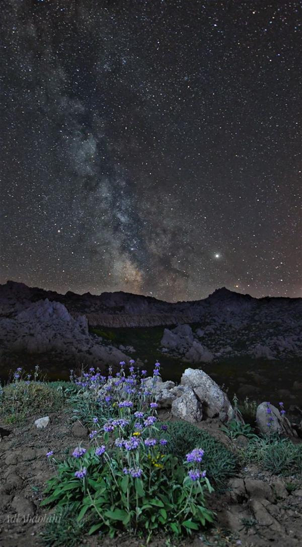 هنر عکاسی محفل عکاسی عادل عبدالهی #کهکشان#ستاره#عکس#نجوم