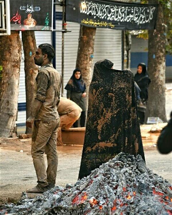 هنر عکاسی محفل عکاسی عادل عبدالهی مراسم عاشورا،خرم آباد